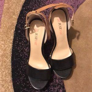 Justfab heels some minor flaws ...